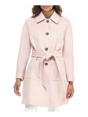Gal Meets Glam Collection hadley belted wool blend coat