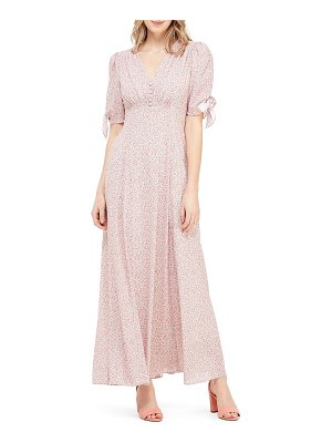 Gal Meets Glam Collection ditsy floral print maxi dress