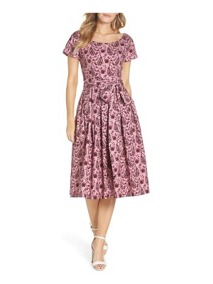 Gal Meets Glam Collection hallie fit & flare dress