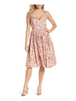 Gal Meets Glam Collection sarah floral print sundress