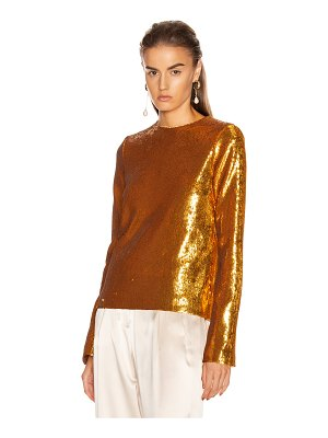 Galvan London gilded clara top