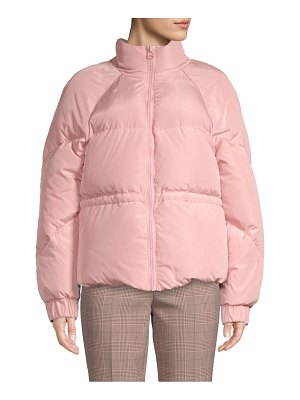 Ganni tech down puffer jacket