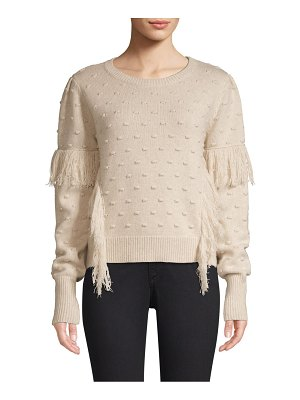 Generation Love nora fringed pom pom sweater