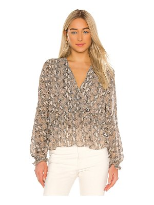 Generation Love paisley snake blouse