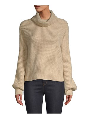 Generation Love simone lace-up turtleneck sweater