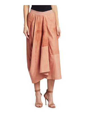 GENTRY PORTOFINO full leather skirt