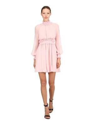 Giambattista Valli Draped silk mini dress