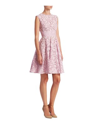 GIAMBATTISTA VALLI Lace Fit-And-Flare Dress