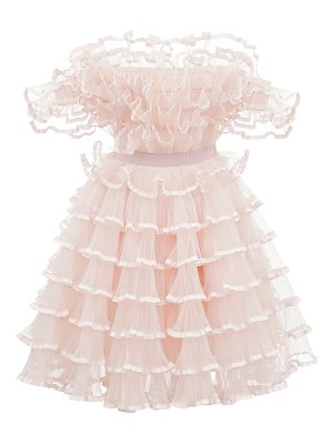 Giambattista Valli Off-the-shoulder tulle mini dress