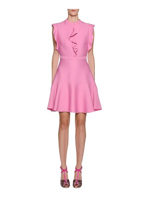 Giambattista Valli Ruffle-Trim A-Line Dress