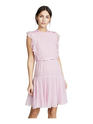 Giambattista Valli sleeveless pink dress