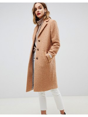 Gianni Feraud teddy oversized coat