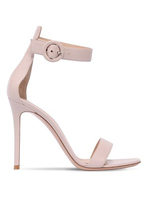 Gianvito Rossi 100mm portofino leather sandals