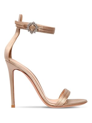 Gianvito Rossi 100mm portofino satin sandals