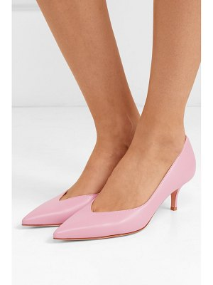 Gianvito Rossi 55 leather pumps