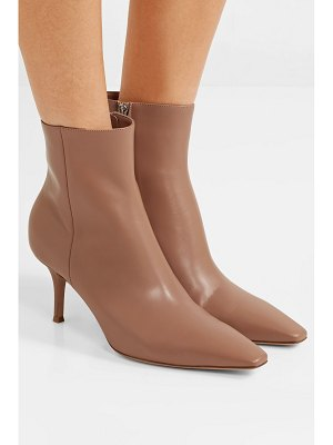 Gianvito Rossi 70 leather ankle boots