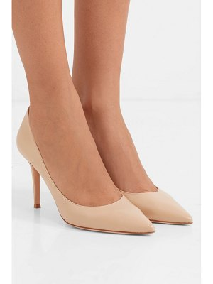 Gianvito Rossi 85 leather pumps
