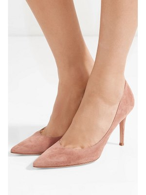 Gianvito Rossi 85 suede pumps