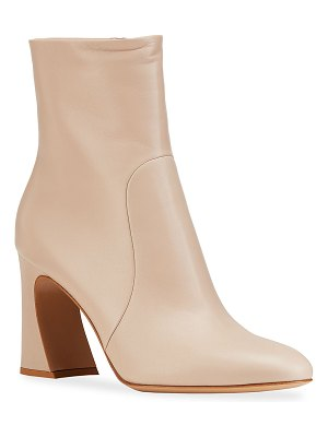 Gianvito Rossi 85mm Napa Glove Ankle Booties