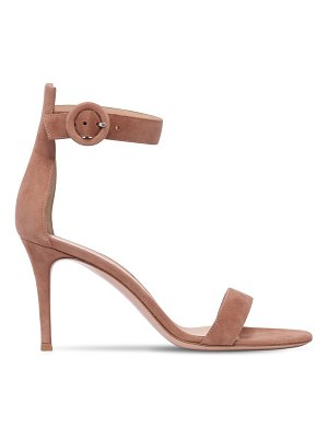 Gianvito Rossi 85mm portofino suede sandals