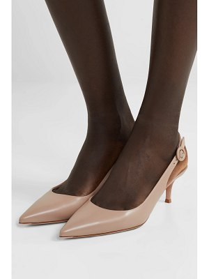 Gianvito Rossi anna 55 leather slingback pumps
