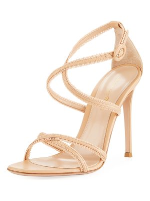 GIANVITO ROSSI Bra Strap Lamb Leather Sandal