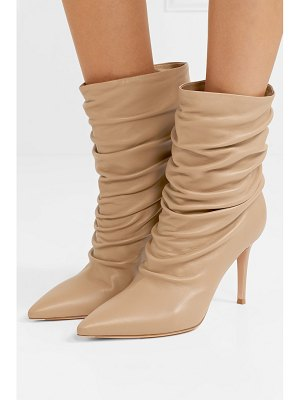 Gianvito Rossi cecile 85 leather ankle boots
