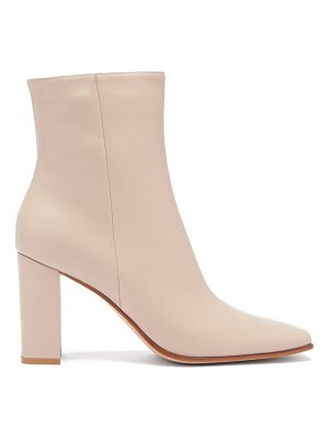 Gianvito Rossi hyder 85 leather ankle boots