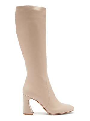 Gianvito Rossi knee-high 85 leather boots