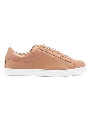 Gianvito Rossi leather trainers
