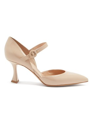 Gianvito Rossi mary jane leather pumps