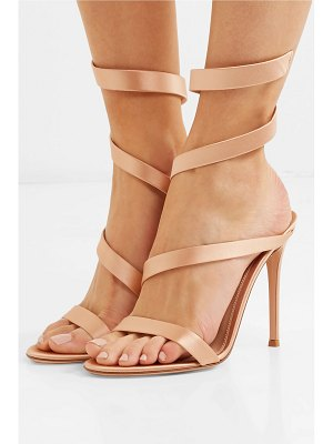 Gianvito Rossi opera 100 satin sandals