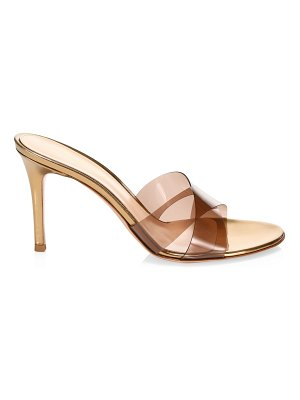 Gianvito Rossi pvc criss-cross sandals