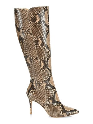 Gianvito Rossi python leather boots