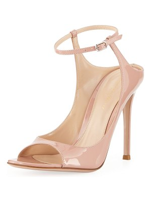 Gianvito Rossi Shiny Ankle-Strap Sandals