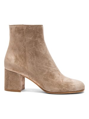 Gianvito Rossi Suede Margaux Booties