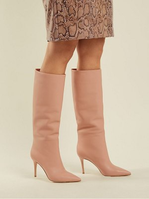 Gianvito Rossi Suzan 85 Knee High Leather Boots