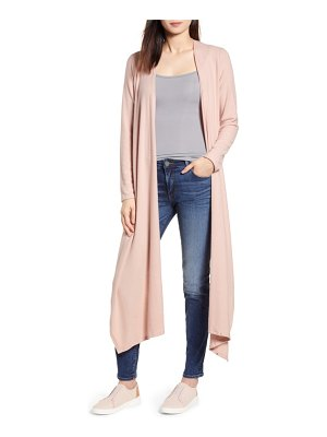 Gibson convertible cozy fleece wrap cardigan