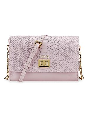 Gigi New York catherine leather crossbody bag