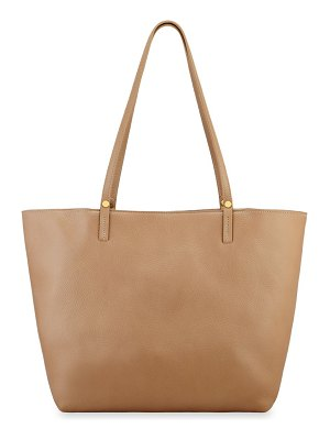 Gigi New York large tori leather tote bag