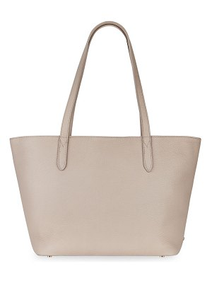 Gigi New York teddie leather tote