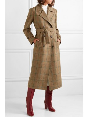 Giuliva Heritage Collection christie checked wool coat
