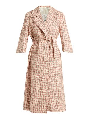 Giuliva Heritage Collection Linda Tie Waist Tweed Coat