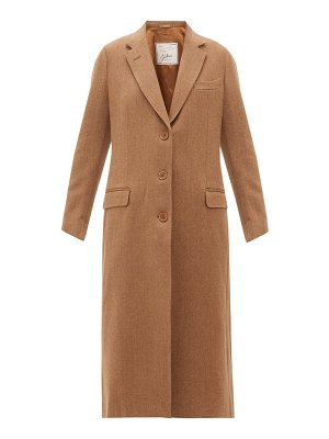 Giuliva Heritage Collection the tatjana single-breasted herringbone-twill coat