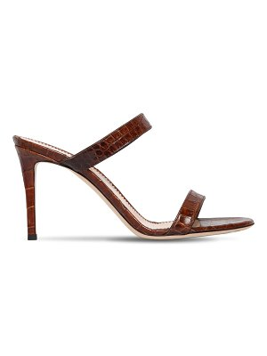 Giuseppe Zanotti 85mm embossed leather sandals