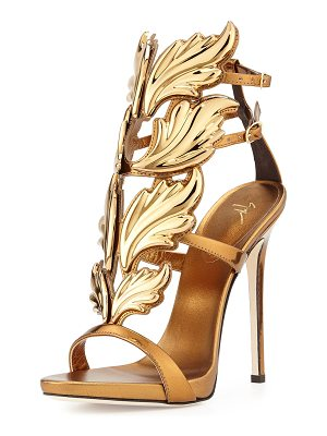 Giuseppe Zanotti Shooting Flame Leather Sandals