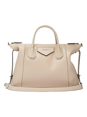 Givenchy antigona soft medium leather shoulder bag