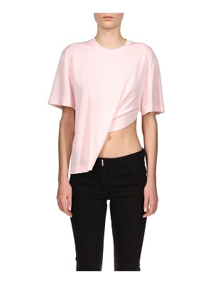 Givenchy Asymmetric C & S Jersey Top