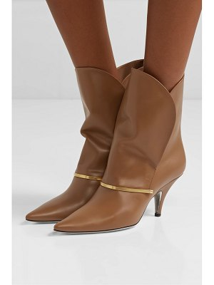 Givenchy bar leather ankle boots