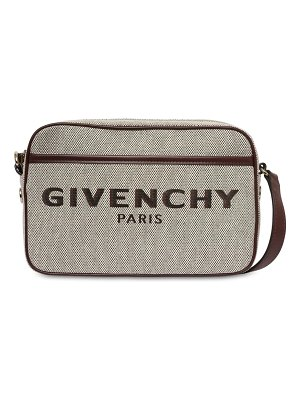Givenchy Bond cotton canvas camera bag